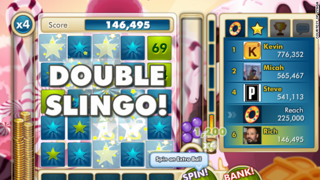 The makers of Zynga Slingo vow to deliver an exciting social-gaming experience for