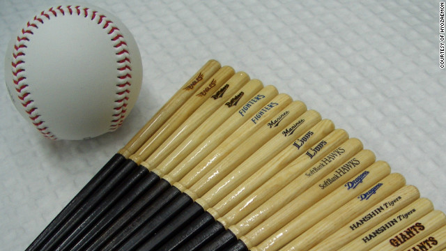 Step up to the plate: from baseball bats to chopsticks
