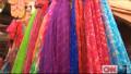 Solar energy for colorful silks