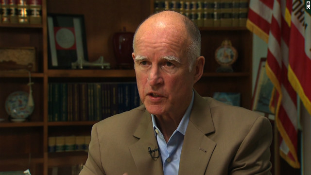 Doctors treating California Gov. Jerry Brown for prostate cancer his prognosis is excellent.