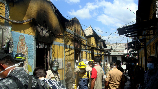 Authorities have not yet determined the cause of the prison fire last week in Comayagua , Honduras.