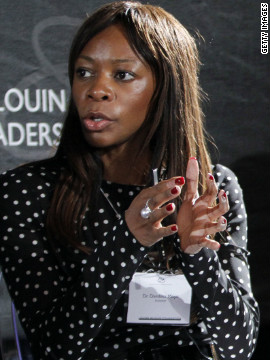 Time Magazine has listed economist Dambisa Moyo as one of the &quot;100 most Influential People in the World.&quot; Born in Zambia, Moyo went to university in the UK and the United States. Her books &quot;Dead Aid&quot; and &quot;How the West was Lost&quot; have been controversial and influential. 