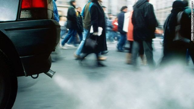 The study doesn't show that air pollution directly triggers strokes, although the researchers say that is biologically plausible.