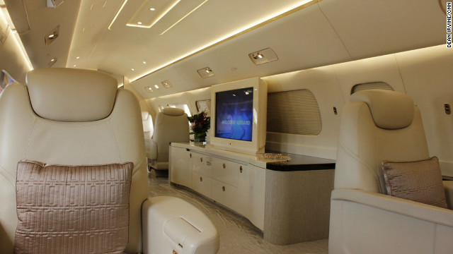 Private jets of the super rich