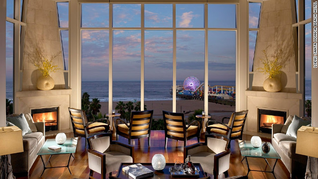At night, the hotel's fireside lounge provides a cozy perch for contemplating the ocean view.