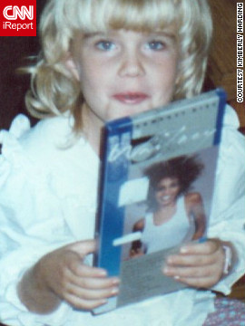 "<a href='http://ireport.cnn.com/docs/DOC-747160'>Kimberly Harding</a> shares this photo taken at her Fredericksburg, Virginia, home in 1987, after she unwrapped Whitney Houston's chart-topper ""Whitney,"" a present for her seventh birthday. ""I remember getting my first CD boom box in the mid '80s. Suzanne Vega's 'Solitude Standing' was my first CD, and Whitney Houston's 'Whitney' album was my second."""