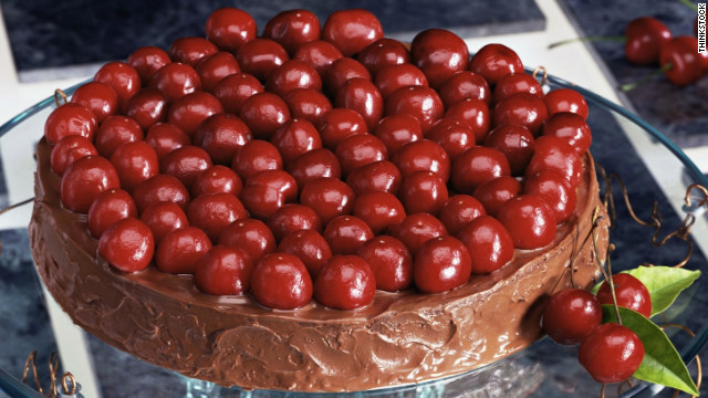 Breakfast buffet: National cherry month