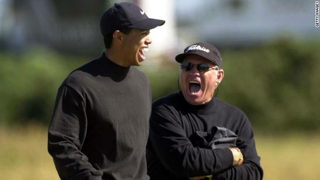 American golf coach Butch Harmon worked with Tiger Woods for eight of his 14 major triumphs.