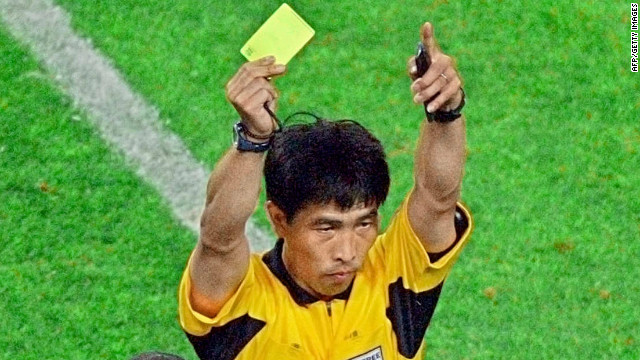 One of China's most famous soccer referees, Lu Jun, has been sent to jail for fixing matches.