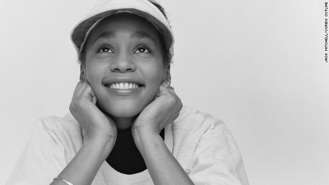 Never-seen photos of a young Whitney Houston