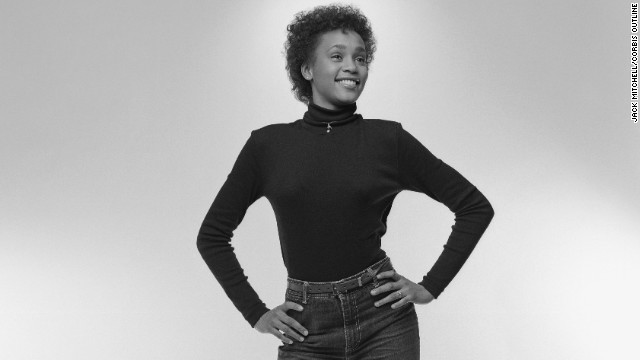The portraits were taken in February 1982. The shoot was arranged by the manager of Whitney's mother, gospel singer Cissy Houston.