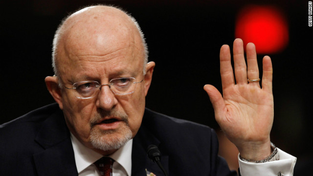 "At social event, DNI Clapper acknowledges ""the elephant in the room"""