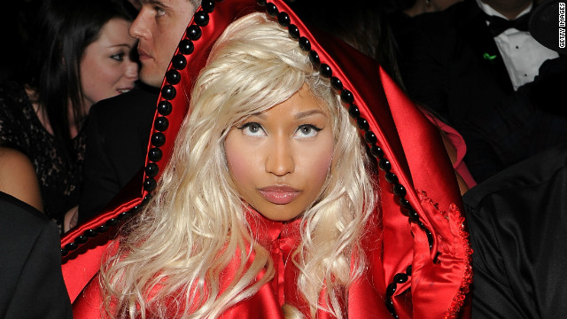 Nicki Minaj: Grammys act was part of a movie