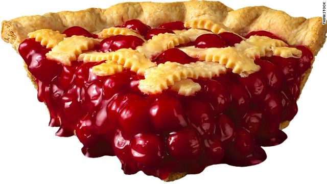 Breakfast buffet: National cherry pie day