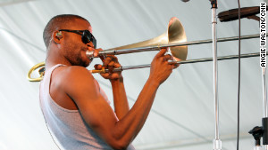 Talent will only take you so far, says Trombone Shorty, adding that it\'s the work ethic that really matters.