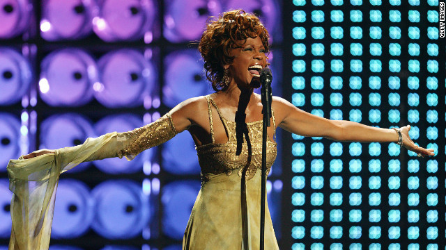 Whitney Houston, pictured in Las Vegas in 2004, had a well-publicized battle with drug addiction in the years before her death.