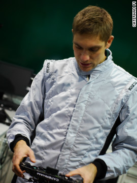 Petrov, who finished 10th in last year's drivers' standings, will drive his new car for the first time at next week's preseason test event in Barcelona, Spain.
