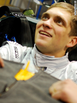 The CNN-sponsored Caterham team have revealed Russian driver Vitaly Petrov will replace Italy's Jarno Trulli for the 2012 Formula One season.