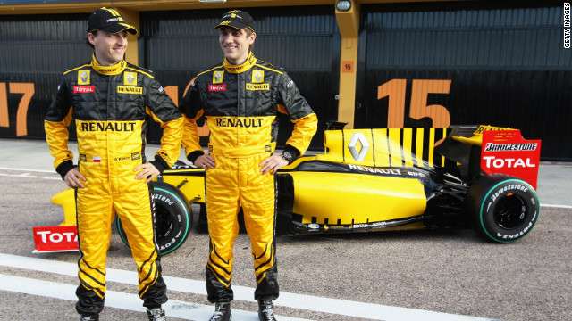 Petrov made history in 2010 when he joined Renault to become Russia's first Formula One driver. He was paired with Robert Kubica, the Pole who has been out of the sport since suffering severe injuries in a preseason rally crash in February 2011.