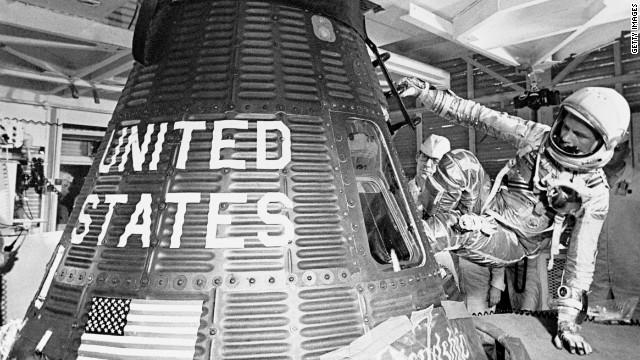'Godspeed,' happy anniversary, John Glenn!