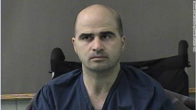Maj. Nidal Hasan is charged with 13 counts of premeditated murder and 32 counts of attempted murder in connection with a 2009 attack at Fort Hood's processing center.