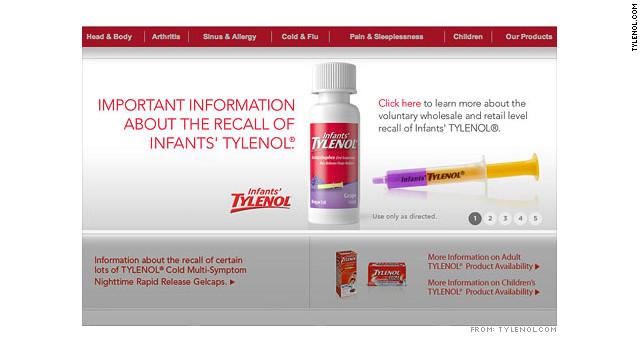 Ordenan retirar del mercado más de medio millón de frascos de Tylenol para niños