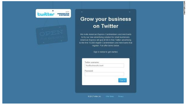Twitter presenta un sistema de publicidad para pequeñas empresas