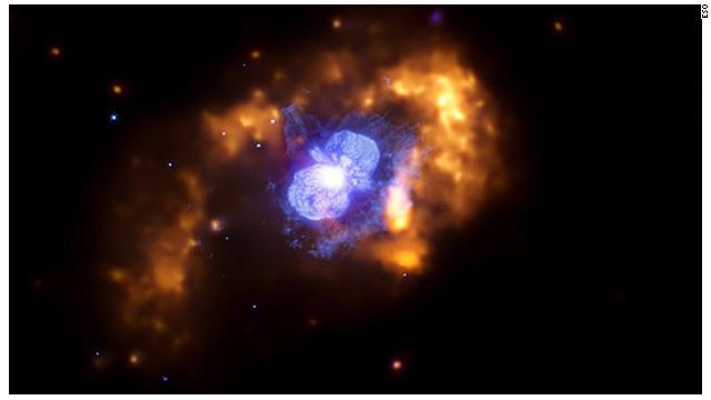 «Eta Carinae», la estrella vecina que ayuda a explicar el Universo