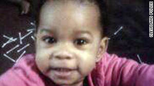 Chaniya Wynn, 1, was found shot to death with her mother in Cleveland, Ohio.