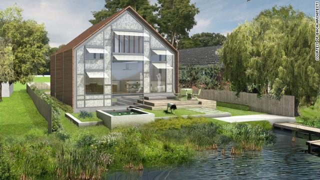 ¿Diluvio? Crean casas que flotan ante posibles inundaciones