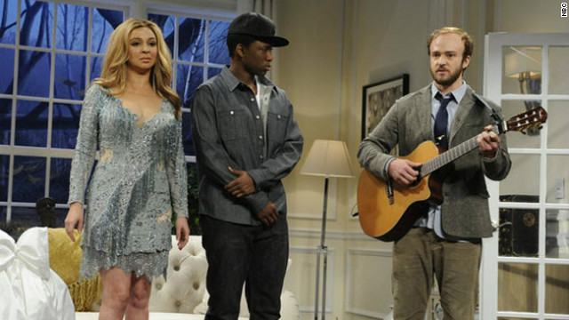 Justin Timberlake takes on Bon Iver in &#039;SNL&#039; skit