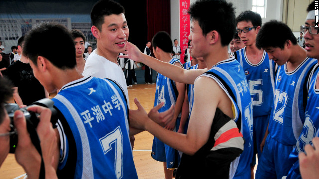 Cha: In Lin, China loves a winner
