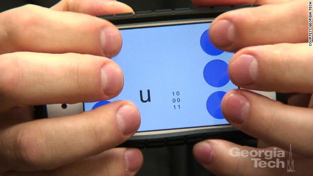 Can Braille be faster than QWERTY? App developer thinks so