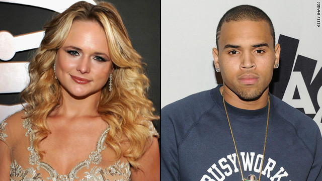 Miranda Lambert: Take notes, Chris Brown
