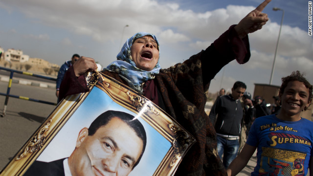 Egypt's Hosni Mubarak is on trial on charges of corruption and ordering the deaths of hundreds of protesters.