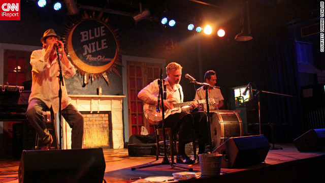 Clubs along Frenchmen Street draw music fans to the Marigny neighborhood.