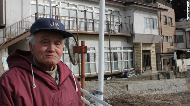 Mr Keikichi, a lifelong resident of the Urato Islands whose house was not destroyed by the tsunami, believes fishing as a livelihood is dead on the islands.