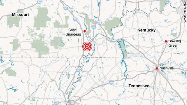 4.0 quake jolts Missouri