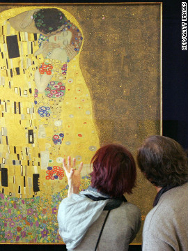 "Gustav Klimt is one of Vienna's most famous artists.For a comprehensive collection of paintings by the artist -- including ""The Kiss "" -- head to the Belvedere Museum."