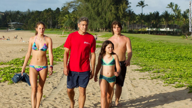 &quot;The Descendants,&quot; starring George Clooney, is a family drama set in spectacular Kauai in the Hawaiian Islands.