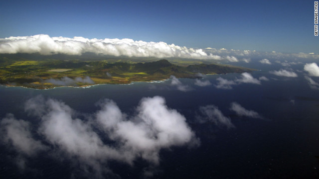 Much of the island is inaccessible by car, so bring your walking shoes or book a helicopter tour.