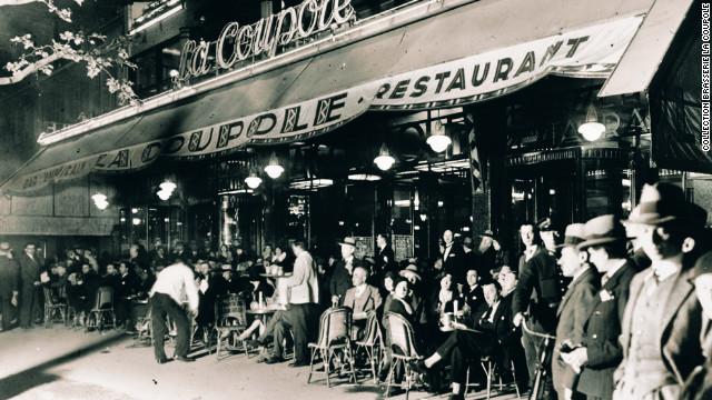 Brasserie La Coupole was frequented by artists and writers including Man Ray, Henry Miller, Picasso and Matisse.
