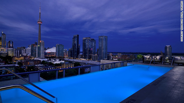 The Thompson Hotel in Toronto
