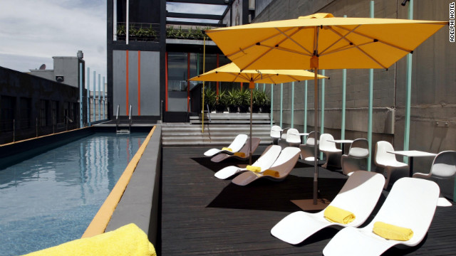 Spectacular hotel rooftop pools - Adelphi hotel melbourne swimming pool ...