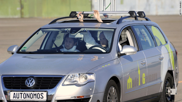 Look, no hands! The driverless future of driving is here