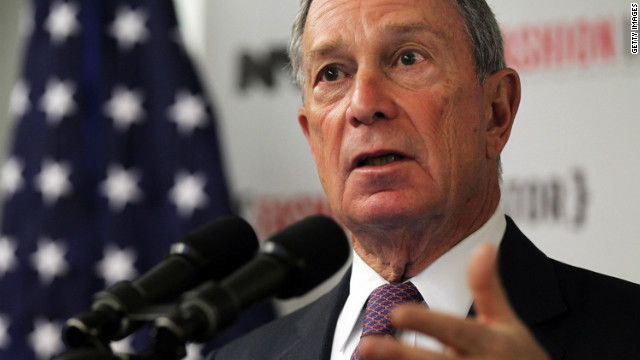 New York's Bloomberg defends city surveillance of Muslims