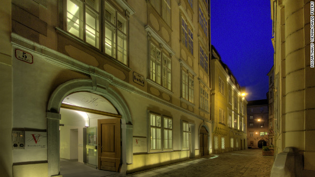 The home where Mozart created &quot;The Marriage of Figaro&quot; is also a museum. Visitors can view objects from the composer's life, while listening to his music wafting on the air.