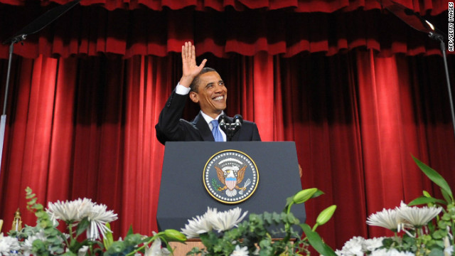 Obama's speech was warmly received by Egyptians, who Ramy Yaacoub says traditionally are avid followers of American politics.
