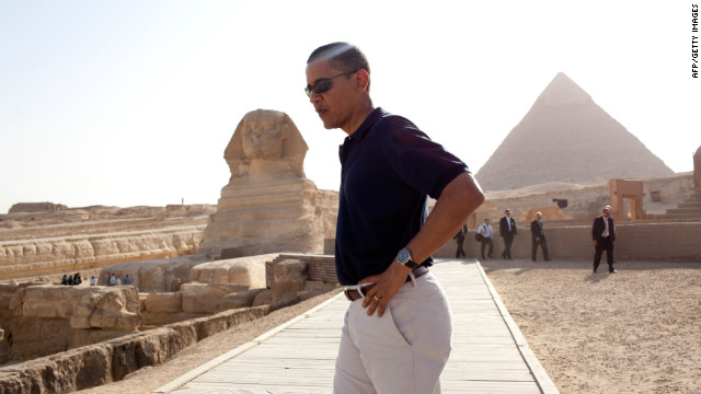 When Barack Obama took American politics on tour in 2009, Egyptians watched closely.