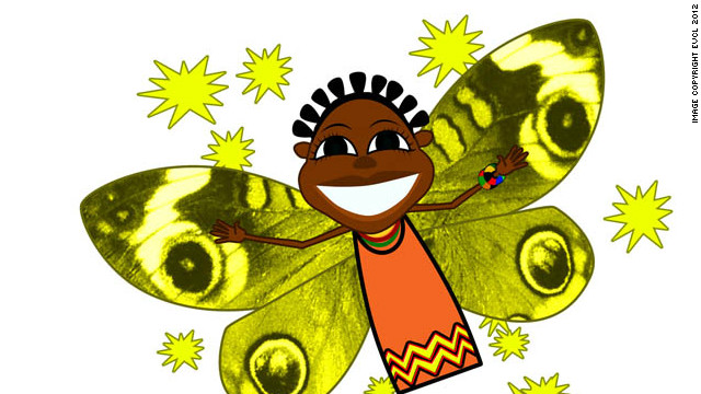 Zeena the fairy also features in the cartoon.